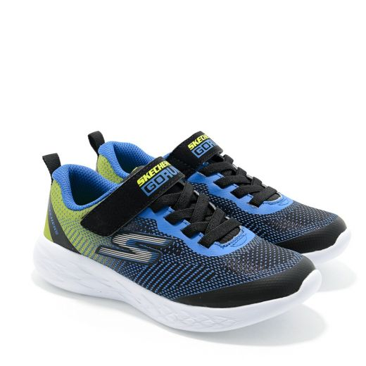 Pantofi Sport baieti Go Run 600 Farrox Black Lime