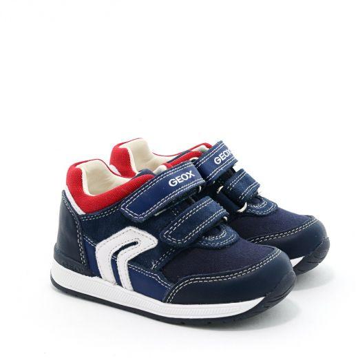 Pantofi Sport baieti Rishon BA Navy Red