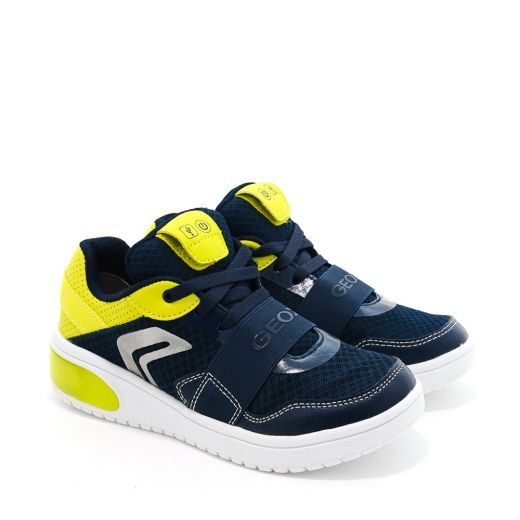 Pantofi Sport baieti Xled BB Navy Lime