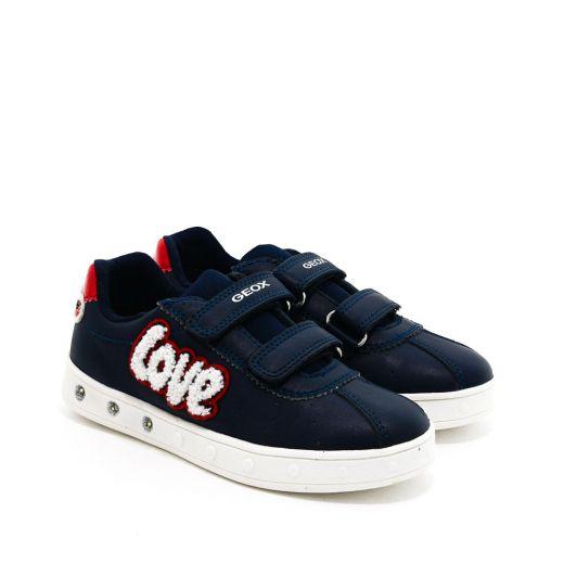 Pantofi Sport fete Skylin GC Navy Red