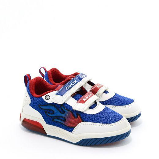 Pantofi Sport baieti Inek BC White Royal