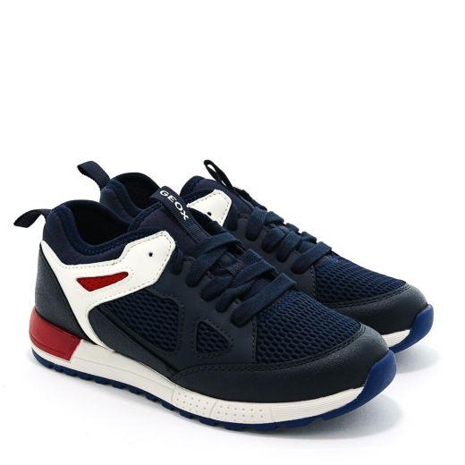 Pantofi Sport baieti Alben BD Navy Red