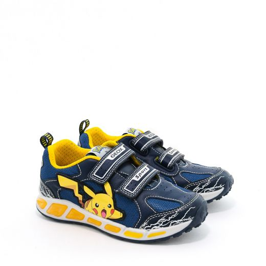 Pantofi Sport baieti Shuttle BC Navy Yellow