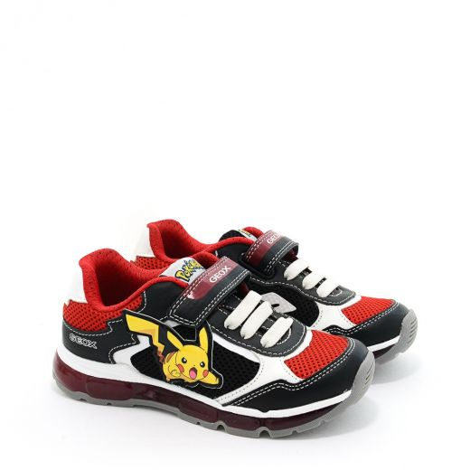 Pantofi Sport baieti Android BB Black Red
