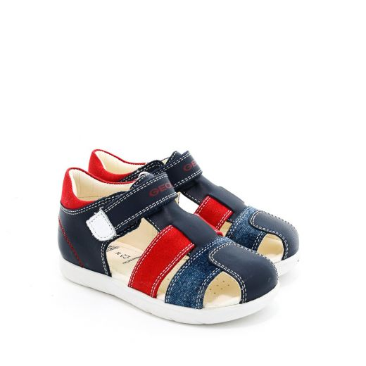 Sandale baieti San Alul BB Navy Red