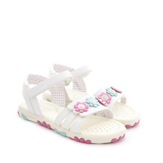 Sandale fete Hahiti GD White