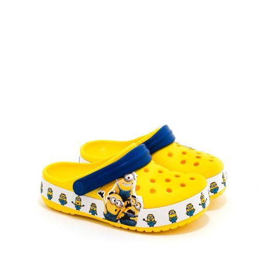 Sandale plaja baieti CrocsFl Minions Multi Clg K Yellow