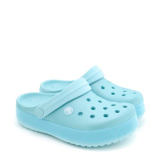 Sandale plaja Crocband Ice Pop Clog K Ice Blue