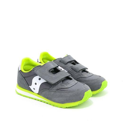 Pantofi Sport baieti SL259640 Baby Jazz HL Grey White
