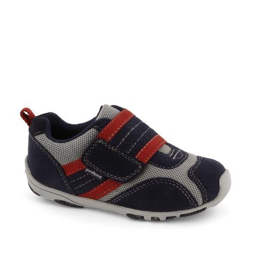 Pantofi sport bebe Adrian Navy/Grey/Red