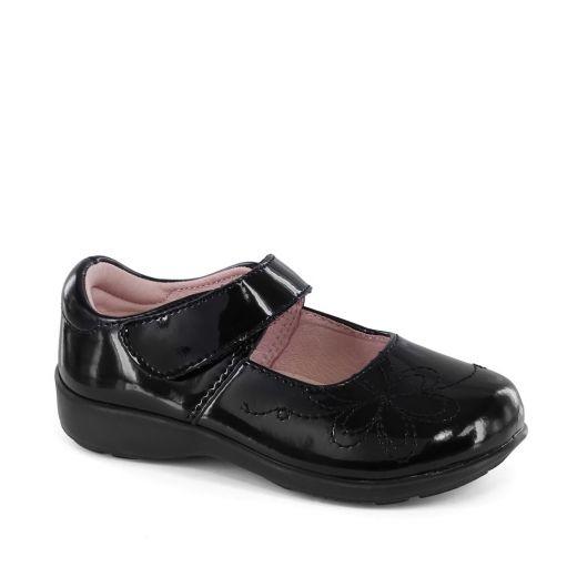 Pantofi fete Jane Black Patent