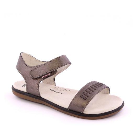 Sandale fete Lisa Bronze
