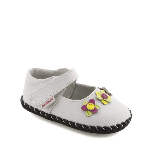 Pantofi bebelusi Salome White Multi