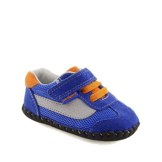 Pantofi bebelusi Cliff Blue Orange