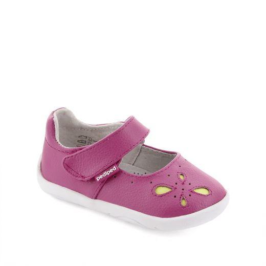 Pantofi bebelusi Antoinette Fuchsia