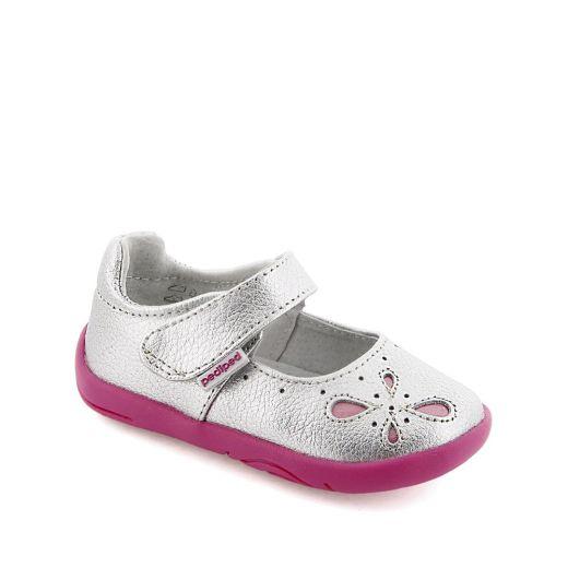 Pantofi bebelusi Antoinette Silver