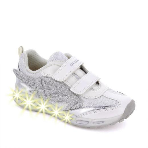 Pantofi sport fete Shuttle GA White Silver