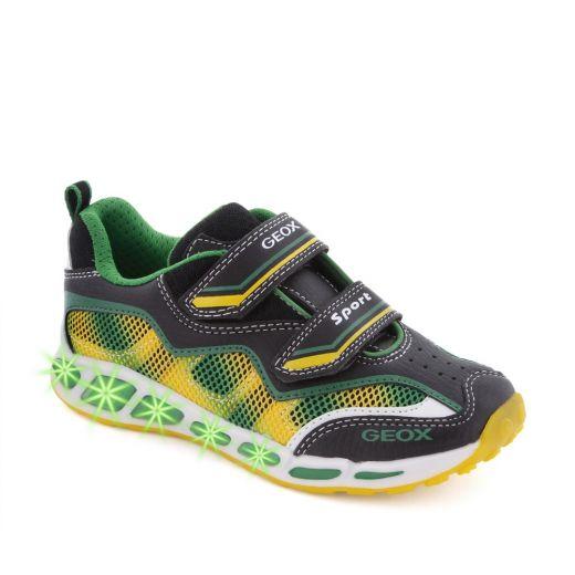 Pantofi sport baieti Shuttle BA Black Yellow