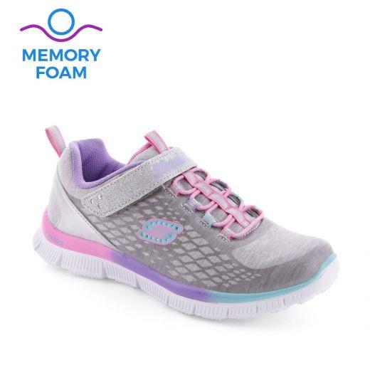 Pantofi sport fete Skech Sparktacular