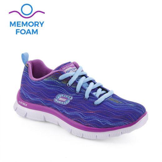 Pantofi sport fete Skech Prancy Blue
