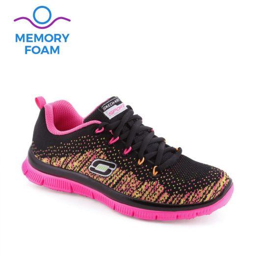 Pantofi sport fete Skech Talent Black