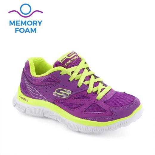 Pantofi sport fete Skech Align Purple