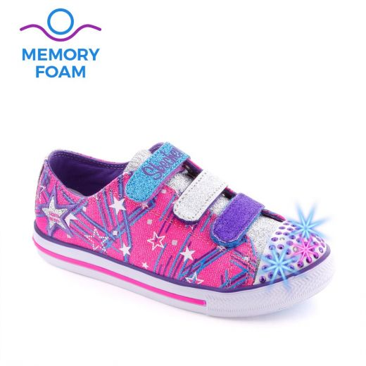 Tenisi fete Twinkle Toes Hot Pink