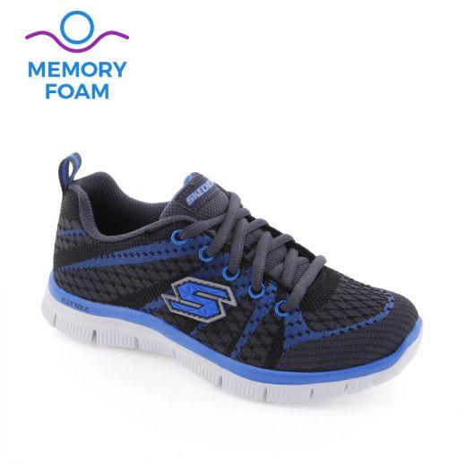 Pantofi sport baieti Flex Advantage Charcoal