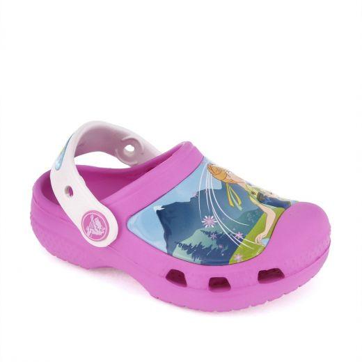 Sandale plaja fete FrozenFever Party Pink