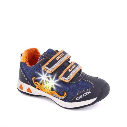 Pantofi sport baieti Teppei BC Navy Orange
