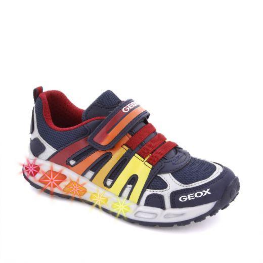Pantofi sport baieti Shuttle BA Navy Red