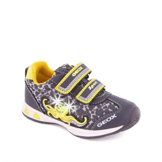 Pantofi sport baieti Teppei BC Grey Yellow