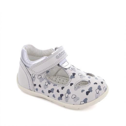 Pantofi bebelusi Kaytan GF White Silver