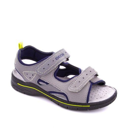 Sandale baieti Delbyn BB Grey Lime