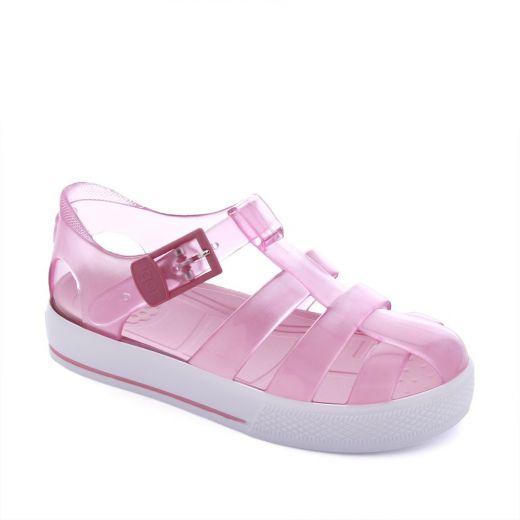 Sandale plaja fete Tenis Cristal Rosa
