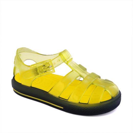 Sandale plaja baieti Tenis Bicolor Amarillo