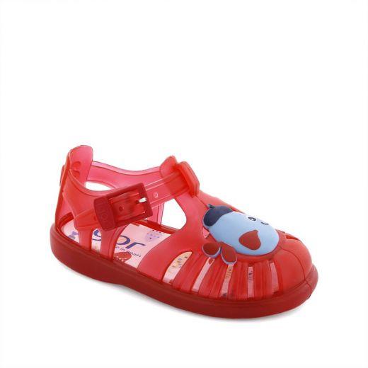 Sandale plaja copii Tobby Pez Rojo