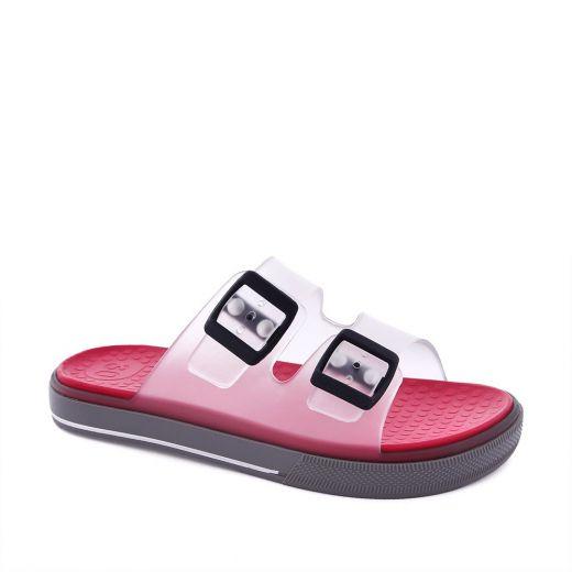 Sandale plaja baieti S10148 Maui Cristal Red
