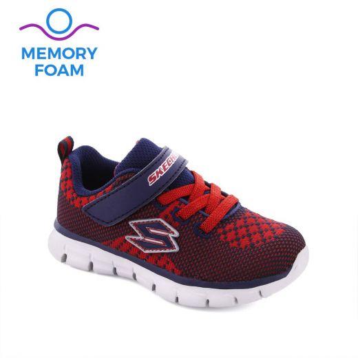 Pantofi Sport baieti Synergy Mini Knit Red