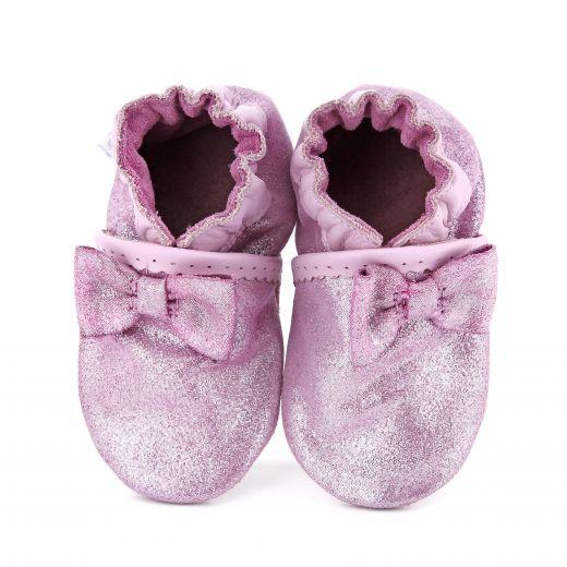 Pantofi bebelusi Tender Knot Rose