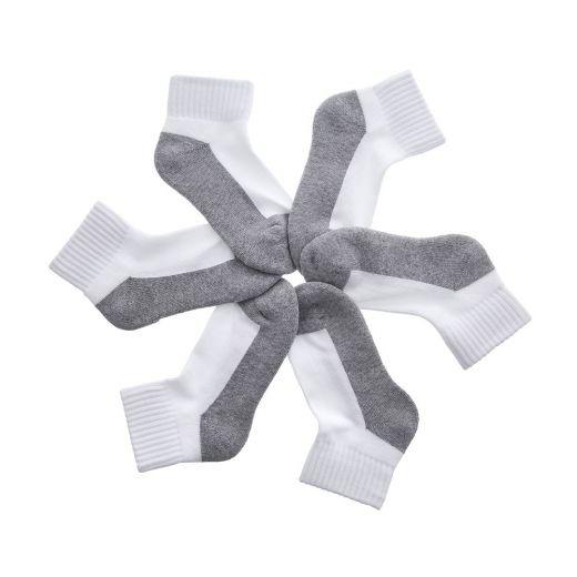 Sosete copii 31172 White Grey - Set 3