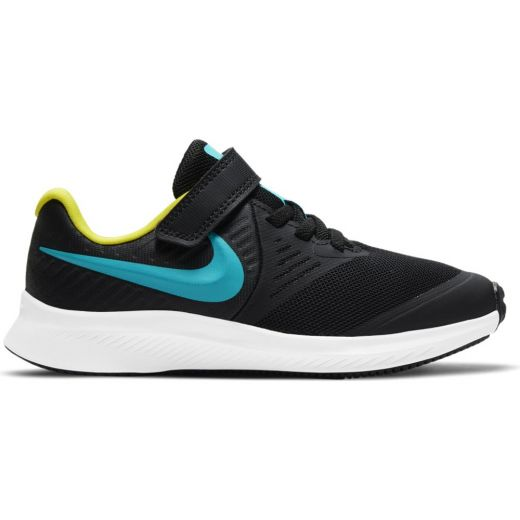Pantofi Sport Baieti AT1801 Star Runner 2 Black Blue