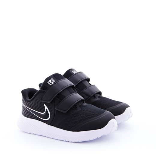 Pantofi Sport Baieti AT1803 Star Runner 2 Black White Volt