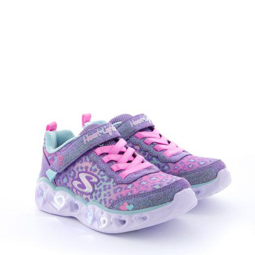 Pantofi Sport Fete Heart Lights Love Match Lavender