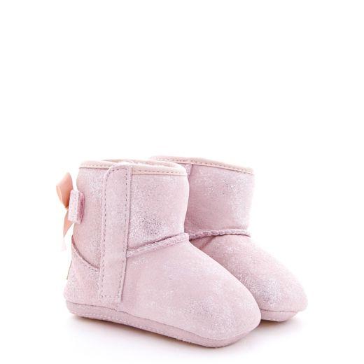 Cizme Imblanite Fete Jesse Bow II Shimmer Pink