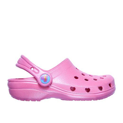 C22769 Sandale plaja Skechers Heart Charmer Sweet Breeze Pink incaltaminte copii bigstep
