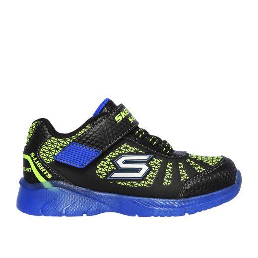 Pantofi sport Baieti Illumi Brights Tuff Truck Blue Lime N