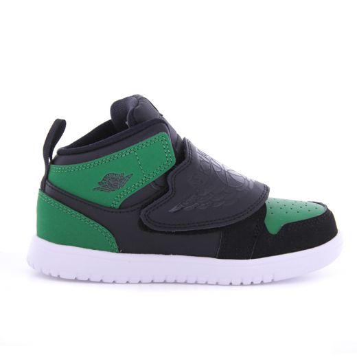 Ghete Baieti BQ7196 Sky Jordan Black Green