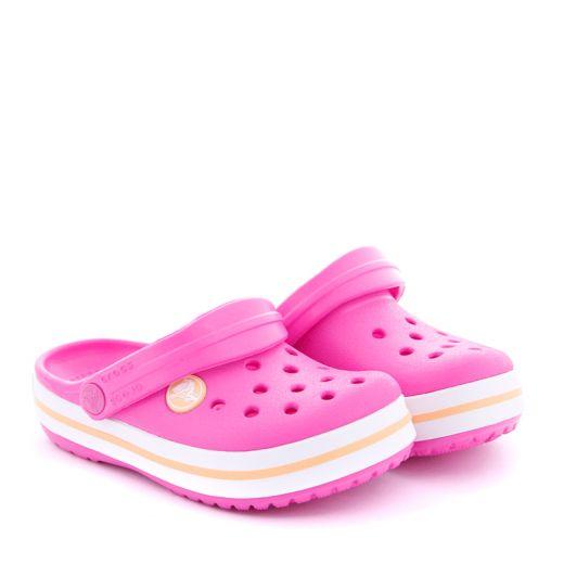 Sandale plaja Fete Crocs Crocband Clog k Pink