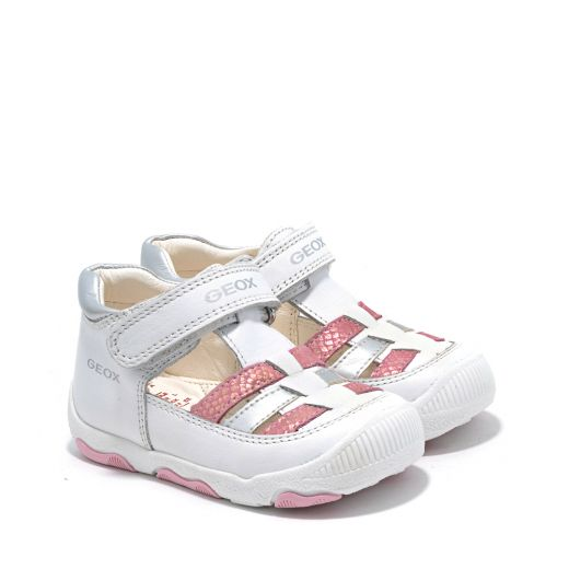 Pantofi fete New Balu GA White Pink